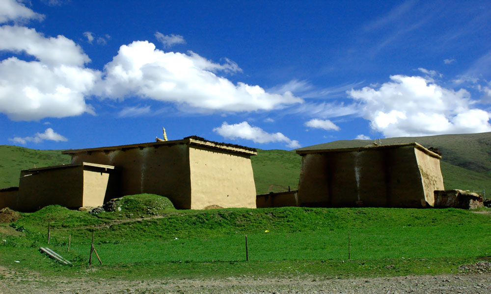 藏式盖房子设计图
