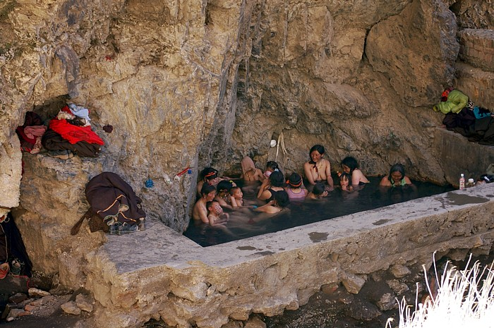 Phrase... super, Nude hot springs in china